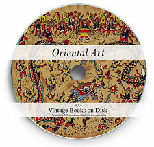 Rare Books on DVD - Antique Japanese & Chinese Oriental Art Sculpture Carving A4