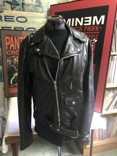 Vintage 80's EXCELLED Leather Motorcycle Perfecto