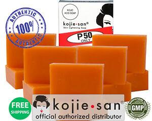 Original-Kojie-San-Skin-Lightening-Soap-10-Bars-65g-OFFICIAL-USA-KOJIESAN