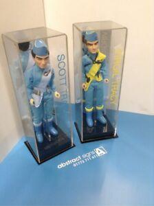 """Voiture De Collection 12"""" Figure Jouet Personnalisé Display Case Thunderbirds Disney Haute Qualité"""