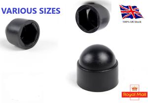 M5-M6-M8-M10-M12-M14-M16-M18-M20-M-Bolt-Nut-Domed-Cover-Caps-Plastic-Black