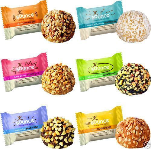 Bounce Natural Energy Balls High Protein Whey Bliss Ball x 40 - All Flavours