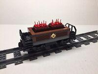Lego Custom Dynamite Freight Car For 10194 Emerald Night. All Parts