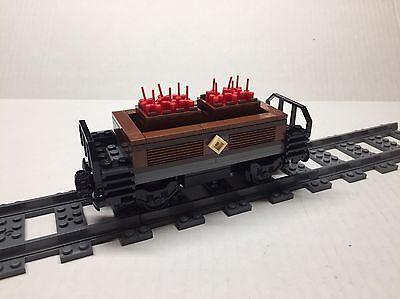 All new parts LEGO Custom Dynamite Freight Car for #10194 Emerald Night