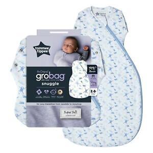 Tommee-Tippee-Grobag-Bebe-recien-nacido-Snuggle-de-dormir-bolsa-0-4m-2-5-Tog-Planeta-Tierra