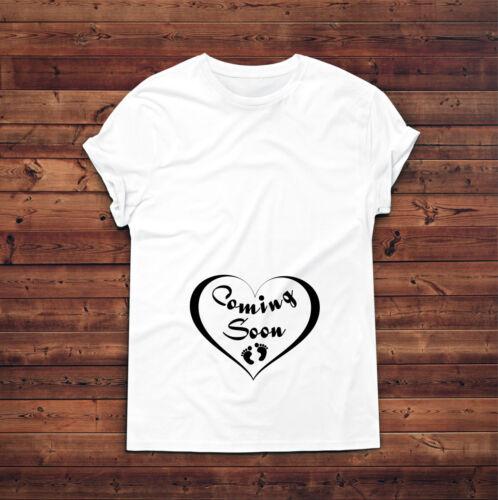 Coming Soon Baby Feet T-shirt,Pregnant AF Shirt,Pregnancy Announcement T shirt