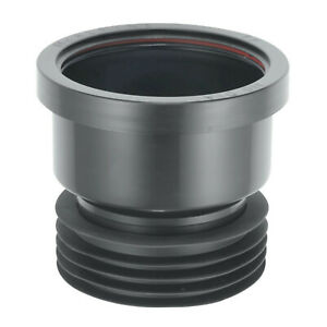 """Drain Adapter 4"""" Soil PVC Waste to Clay Cast Iron Converter Plumbing Adaptor"""