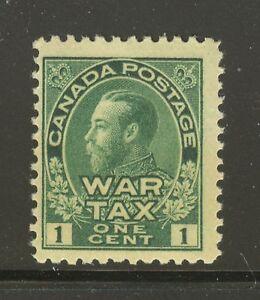 Canada-MR1-1915-1c-King-George-V-War-Tax-Issue-Unused-NH