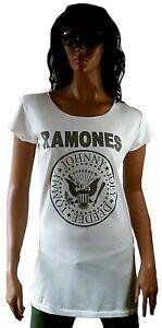 S Official Amplified Go Let's Ramones Ikons T Wow Tunik shirt Longshirt Hey You qZEwBF