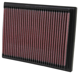 K&N Air Filter Element 33-2070 (Performance Replacement Panel Air Filter)