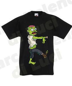 Halloween T Zombie Maglietta Mostro Shirt Personalizzata Con Nome PXkOZiu
