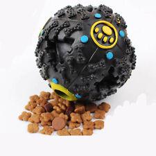 Balle resistante distributrice de croquettes pour chien