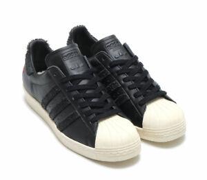 Détails sur Adidas Originals Superstar 80 S CNY Noir Blanc BA7778 Baskets Taille UK 8 10.5 afficher le titre d'origine