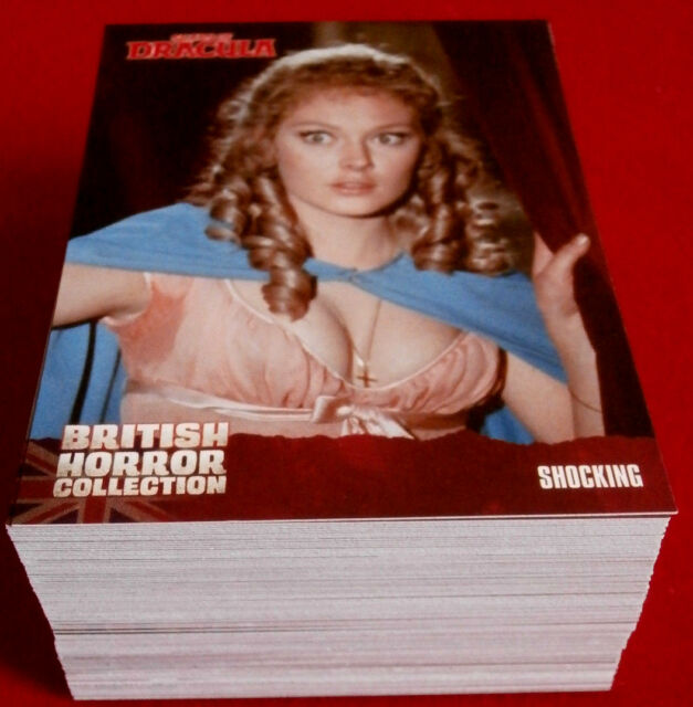 BRITISH HORROR COLLECTION - FULL 92 CARD BASE SET - Christopher Lee - 2016