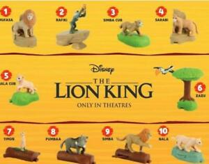 2019 Mcdonald S The Lion King Happy Meal Toys Choose Your Character Ships Now Ebay