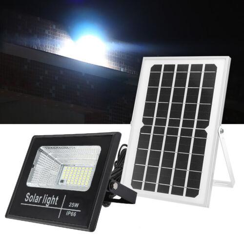 LED Solar Flutlicht Solarleuchte Solarpanel Strahler 52//116//204 Lampenperlen