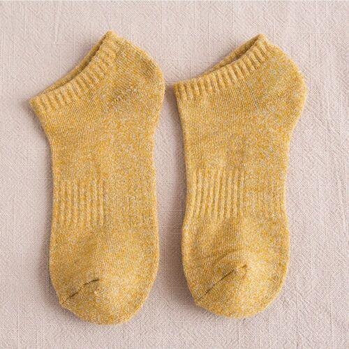 Autumn Winter Cotton Soft Casual Ankle Sock Boat Sock Low Cut Sock Short Sock
