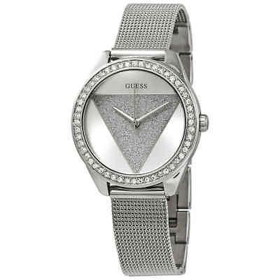 d8725de52 Guess Tri Glitz Crystal Silver Dial Ladies Watch W1142L1 8431242947884 |  eBay