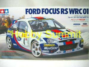 Tamiya-1-24-FORD-FOCUS-RS-WRC-2001-Rally-Car-Model-Kit-24241-Discontinued