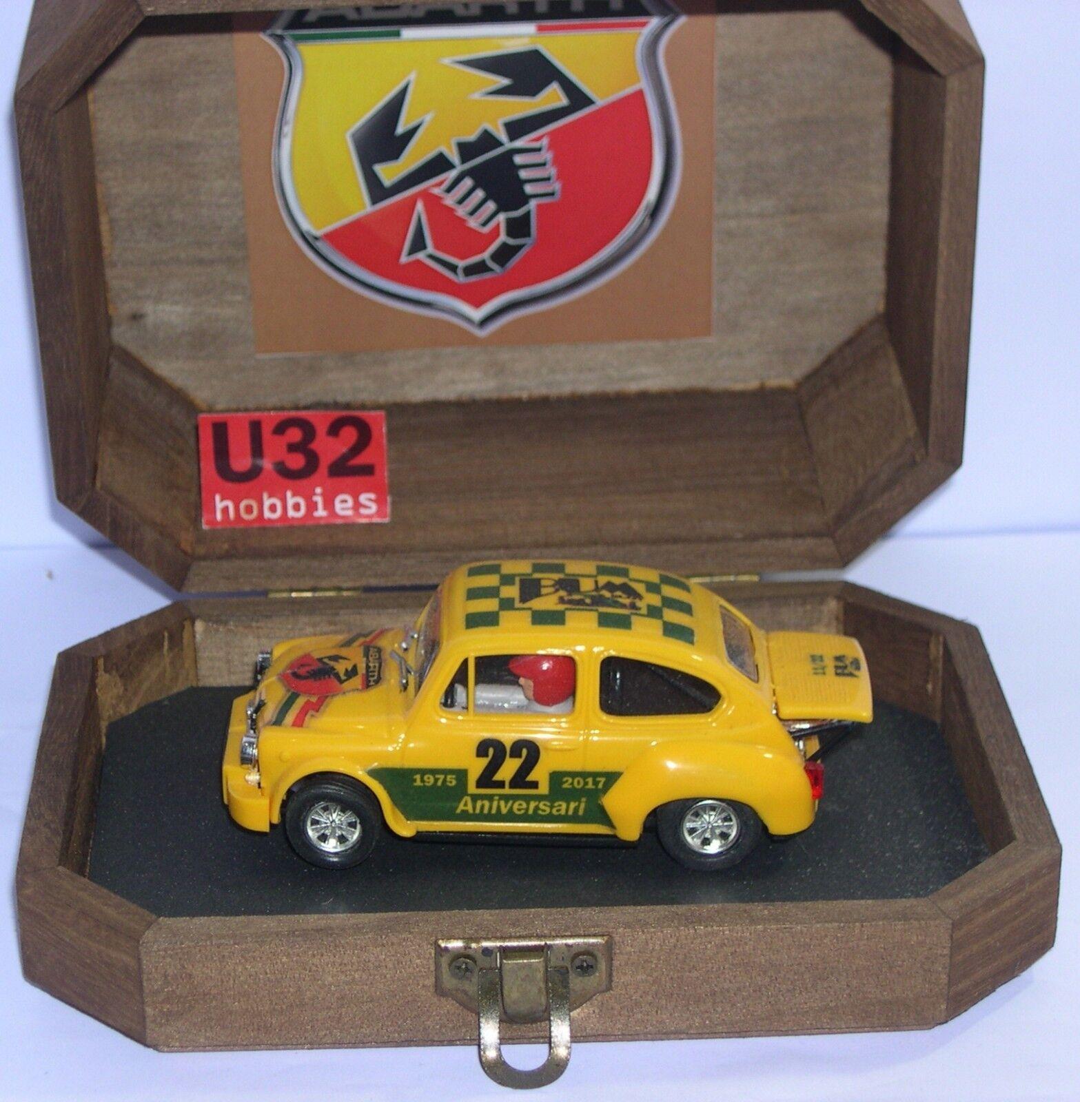 buona reputazione Bum Slot 2211 Slot auto Fiat Abarth Abarth Abarth 1000tc 22 Curata 1975-2017 Limit.ed 22un  80% di sconto
