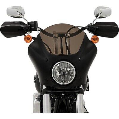 US Memphis Shades Black Hand Guard for Harley Softail Sportster XL FLHR FLH FLHT