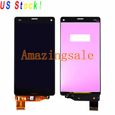 Black For Sony Xperia Z3 Compact D5803 D5833 LCD Screen Touch Digitizer Replace