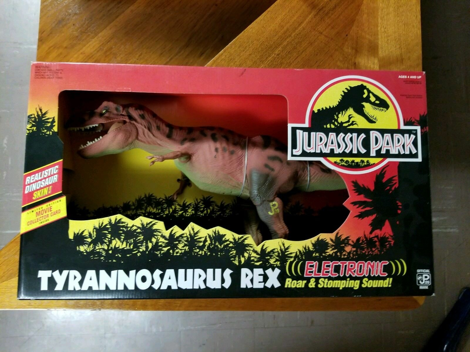 Jurassic Park Electro T-Rex NEUF SCELLÉ  The Ultimate JP COLLECTION    NEUF