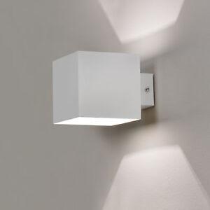 lux.pro Wandleuchte Up Down Wandlampe Beleuchtung Wandstrahler Eckig Schwarz