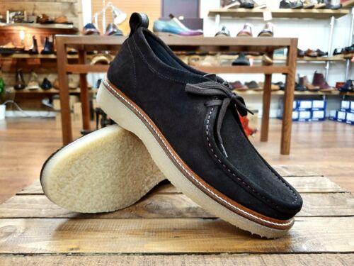 Nicholas Deakins //// Bowling ND101 //// Homme en Daim Marron Mocassin Chaussures //// NEUF!!!