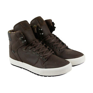 53857f03756 Supra Vaider Cw Mens Brown Synthetic High Top Lace Up Sneakers Shoes ...