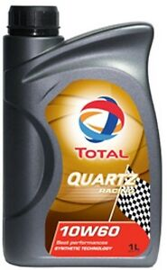 Total-Racing-High-Performance-Full-Synthetic-10W60-10w-60-Engine-Motor-Oil-x5-1L