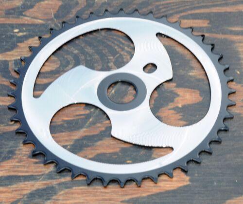 3 Spoke 44t Chainring   BMX Vintage Schwinn Bicycle Chopper Cruiser Bike Crank