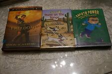 LOT of 3 Freddie Ramos Zooms to the Rescue (Zapato Power), Fight for Freedom + 1