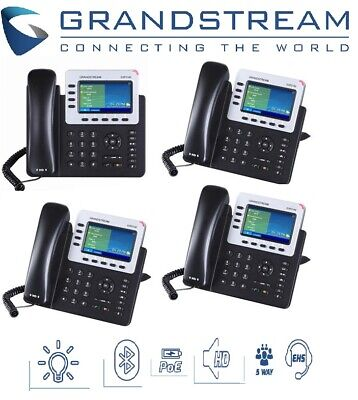 Grandstream GXP2140 Enterprise IP Phone HD PoE IP 4 lines Dual Gb Colour LCD