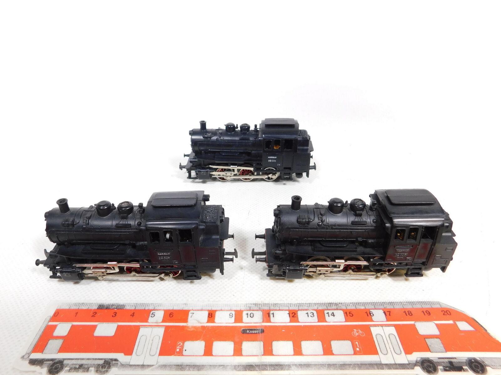 ce 444 - 1 1×3 x M?RKLIN H 0 / AC 3000テンダー/蒸気機関車/機関車