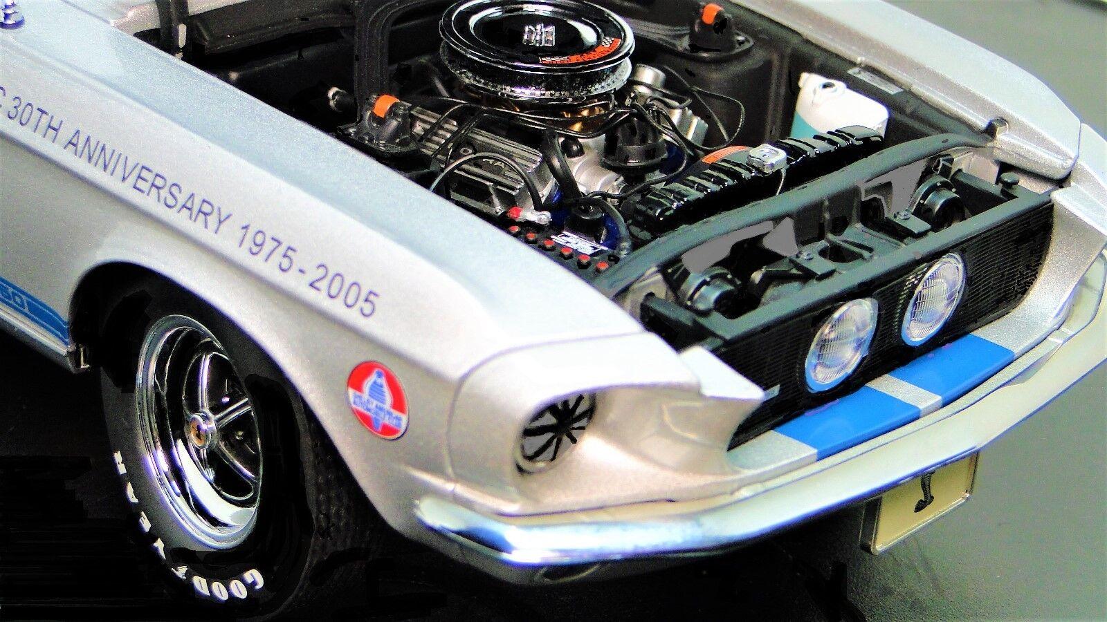 Mustang 1967 Lane Exact Detail Detail Detail Ford Race Car 1 GT 18 24 Vintage 40 Racing 12 be576a