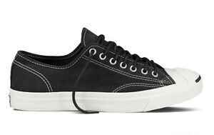 NEW-70-Converse-Jack-Purcell-LTT-Ox-Black-144376C-US-Mens-9