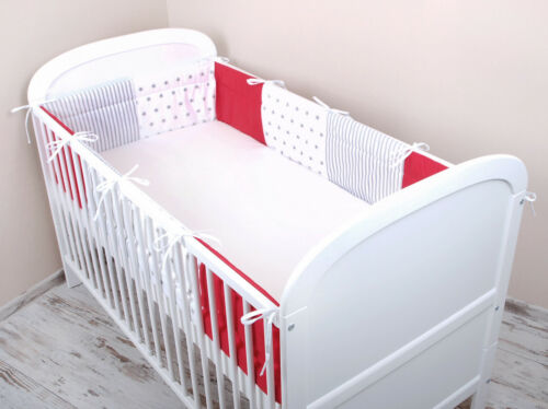 Bettumrandung Nestchen Kopfschutz 420x30 360 180 Bettnestchen Baby MIX