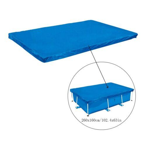 7//8//9//13Ft Rectangular Swimming Pool Cover UV-resistant Waterproof Dust Cover US