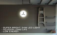 LIGHT BOX MERCEDES BENZ AMG CAR LOGO WALL SIGN BIRTHDAY GIFT MAN CAVE GARAGE