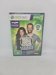 THE BIGGEST LOSER: ULTIMATE WORKOUT XBOX PAL Game Brand New Sealed Free Tracking