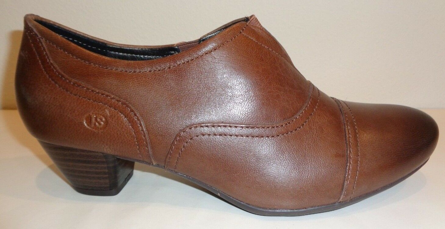 Josef Seibel Size Size Size 9 to 9.5 AMY 35 Brown Leather Booties Boots New Womens shoes 13390d
