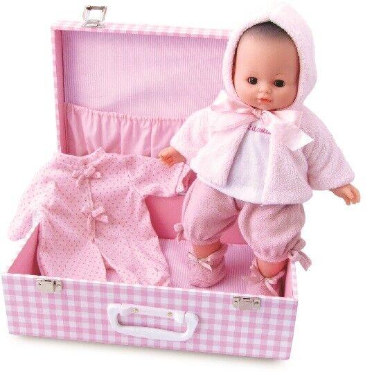 Bébé Petit Câlin 36  cm. Mon bébé d'amour en valisette - Petitcollin 623613  prezzi bassissimi
