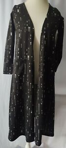 New Fashion Lularoe Size Xs Sarah Black White Arrows New Cardigan Sweater Nwt Extra Small