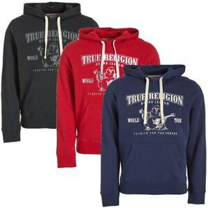 True-Religion-Men-039-s-Buddha-Logo-Pullover-Hoodie-Sweatshirt