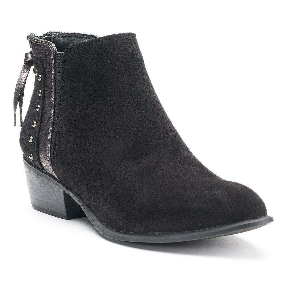 NWT Women's Candie's® Famous Ankle Boots Choose Size Black