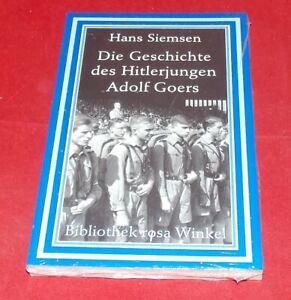 Siemsen - Die Geschichte des Hitlerjungen Adolf Goers - Bibliothek rosa Winkel