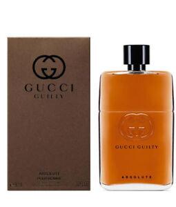 34148d59f Gucci Guilty Absolute Pour Homme MEN Eau De Parfum 3 OZ 90 ML Spray ...