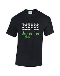 Bike-Invaders-Cycling-Mens-Printed-T-Shirt-inspired-by-Space-Invaders