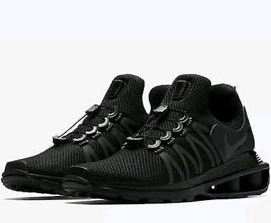 9cc1d5b2b96e0 Nike Shox Gravity Men s Size 9 Training Training Training shoes Triple  Black (BRAND NEW)